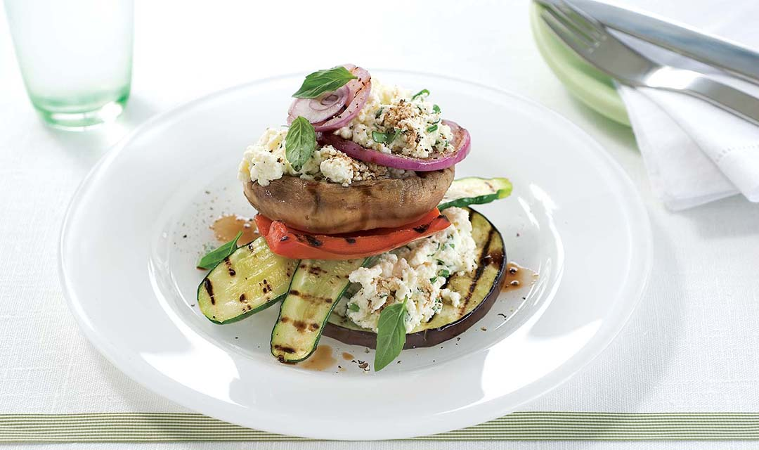 Grilled Vegetable Stack