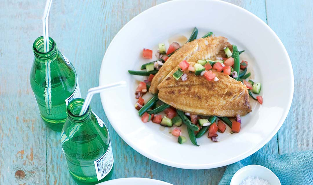 Paprika Spiced Bream with Salsa